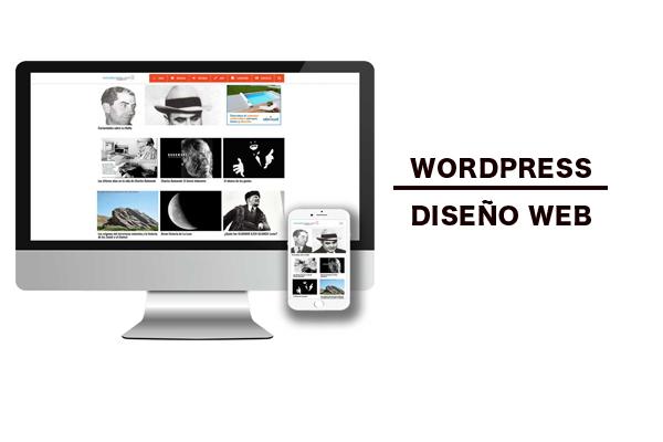 Portfolio. Diseño y desarrollo Web en el CMS Wordpress