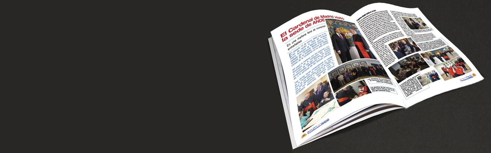 Maquetamos un nuevo número de la Revista de la Fundación ANDe