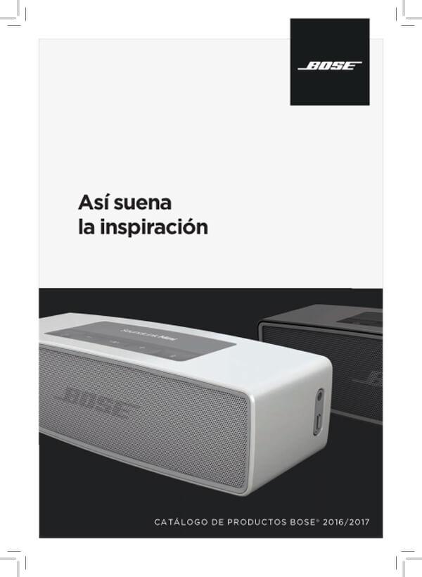 Catálogo Bose