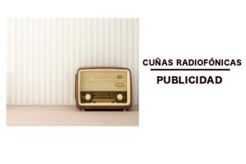 Cuñas radiofónicas. Publicidad en radio